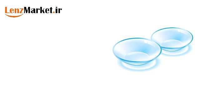 لنز رنگی طوسی عسلی 21