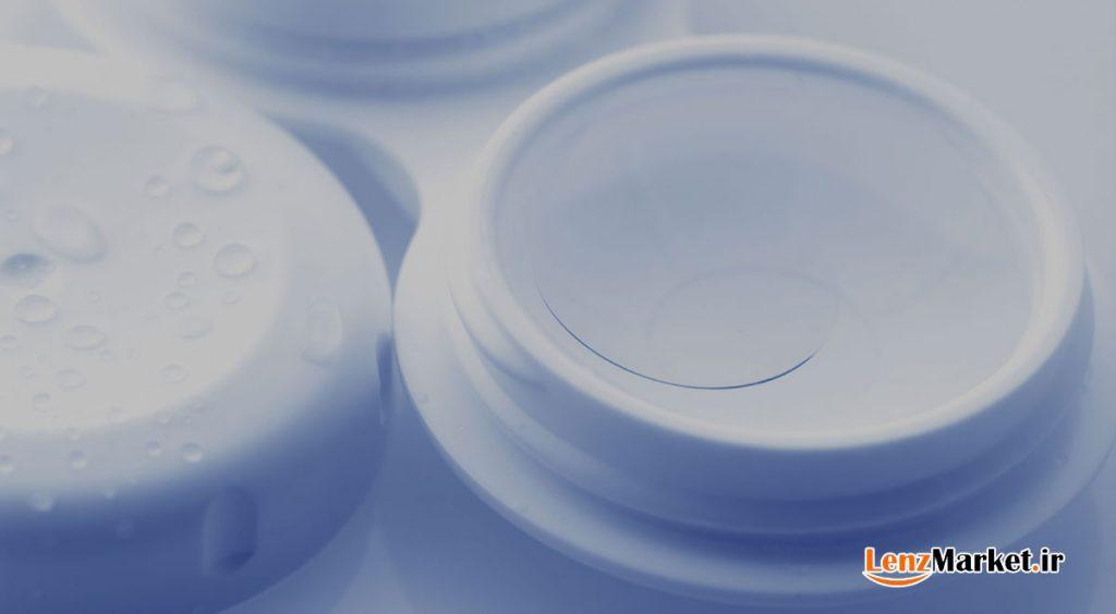 محلول لنز