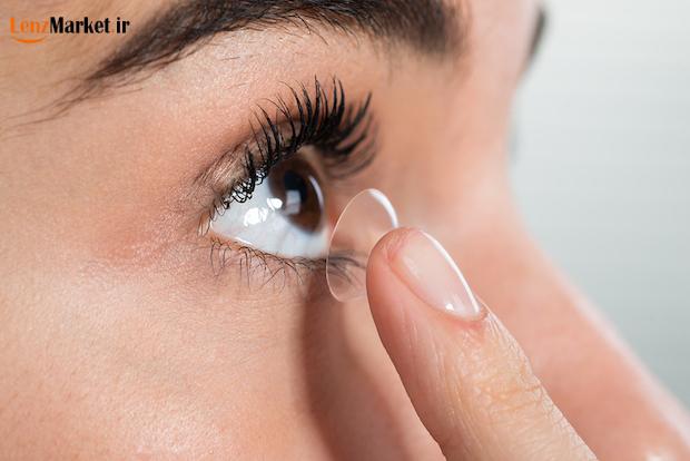لنز طبی چشم 65