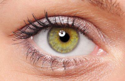 نگهداری لنز رنگی