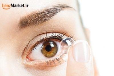 لنز چشمی