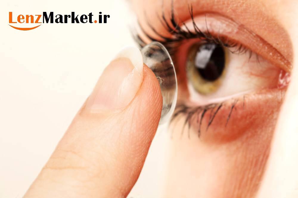 قیمت لنز طبی رنگی سالانه 1