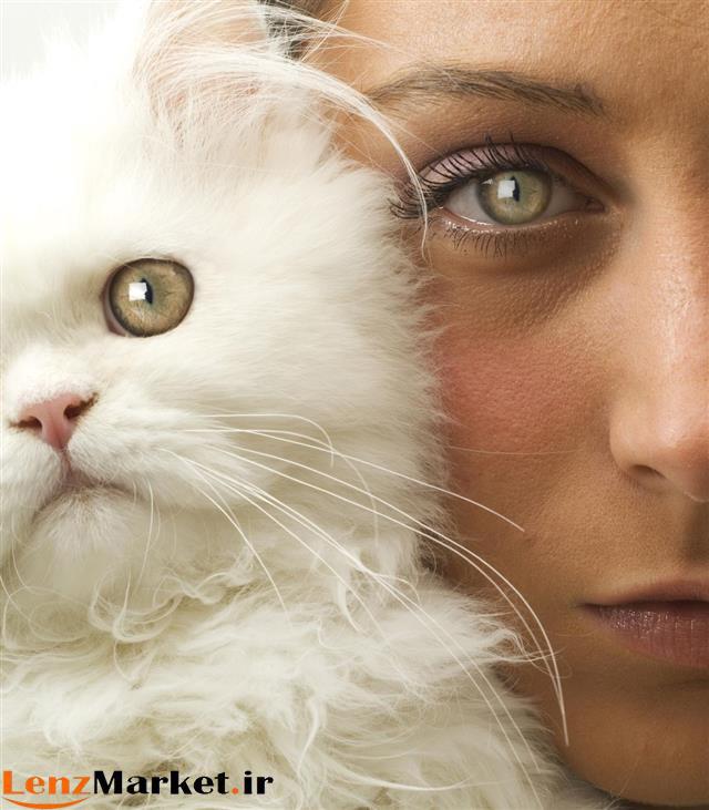 لنز چشم گربه ای