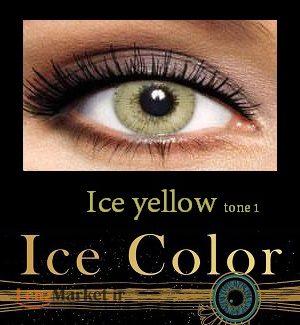 لنز یخی Ice yellow آرین