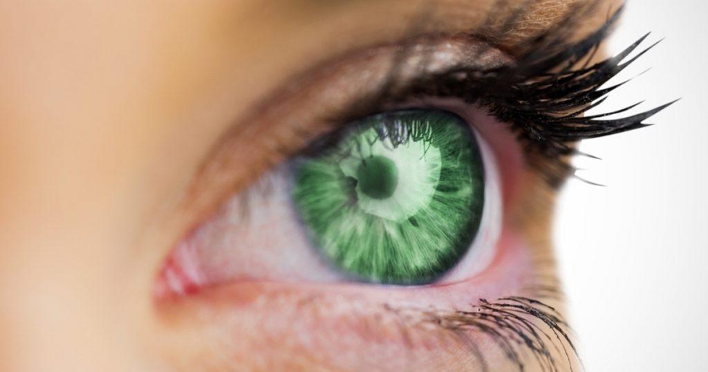 لنز سبز دور دار
