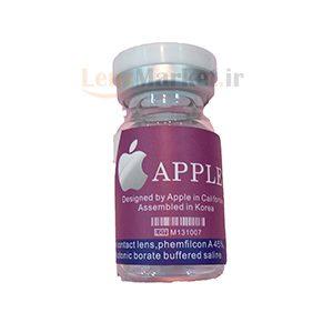 لنز رنگی سالانه اپل
