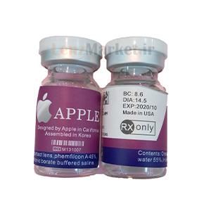 لنز طبی رنگی اپل