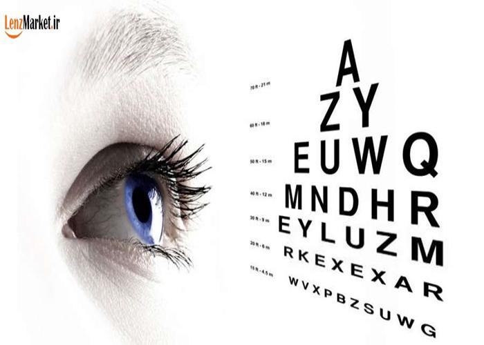 قيمت لنز برای چشم ضعیف