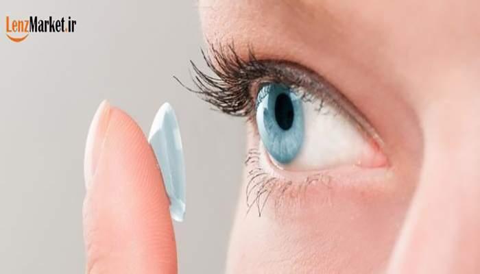 استفاده از لنز طبی