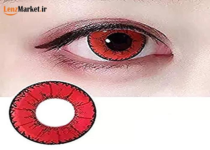 لنز قرمز
