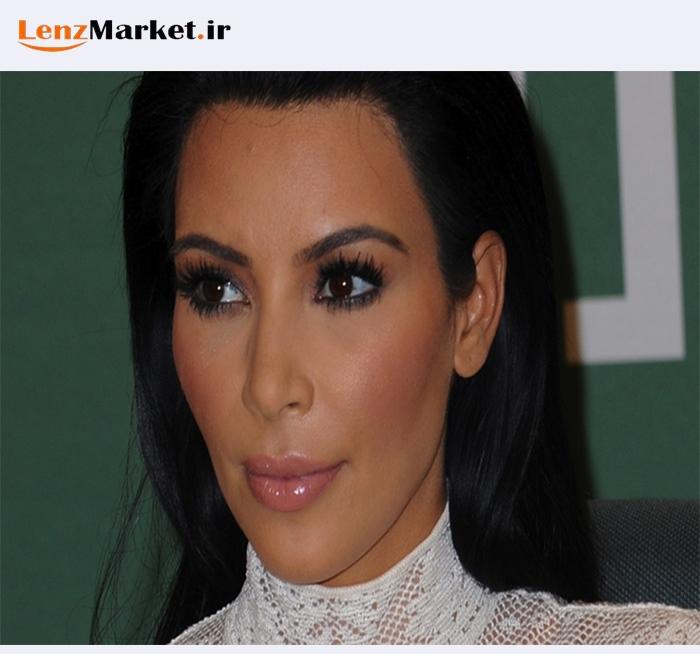 استفاده سلبریتی ها از لنز