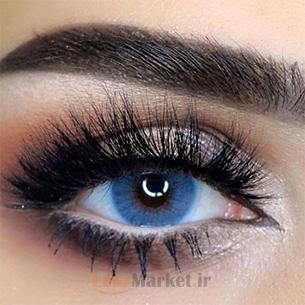 لنز رنگی سولوتیکا هیدروکور آزول azul
