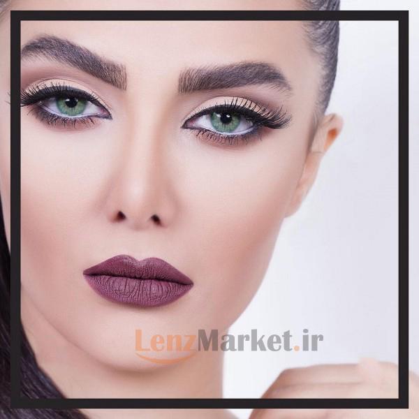 لنز رنگی سولوتیکا اسمرالدا esmeralda
