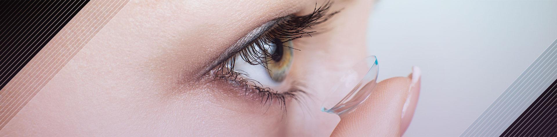 لنز رنگی مناسب پوست روشن