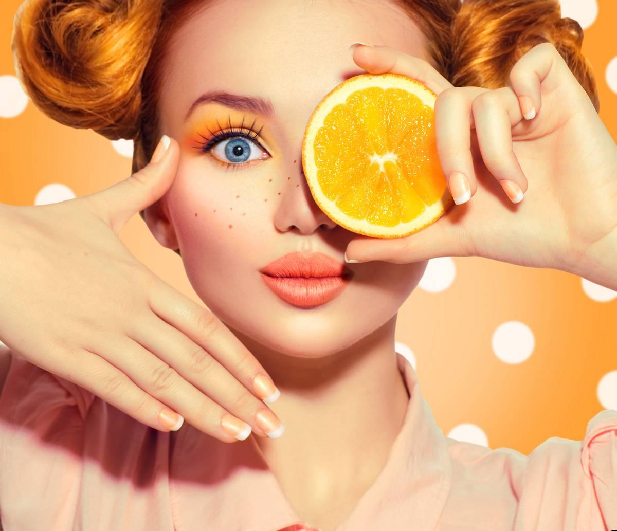 لنز رنگی در تابستان