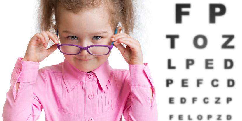 تشخیص شماره چشم کودکان